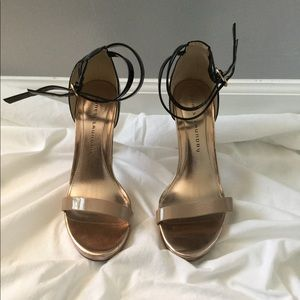 Chinese Laundry Black and Cream heels